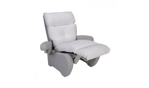 Fauteuil de repos NOSTRESS blanc, position relax