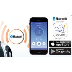 Application Beurer SleepQuiet pour surveiller vos ronflements pendant la nuit