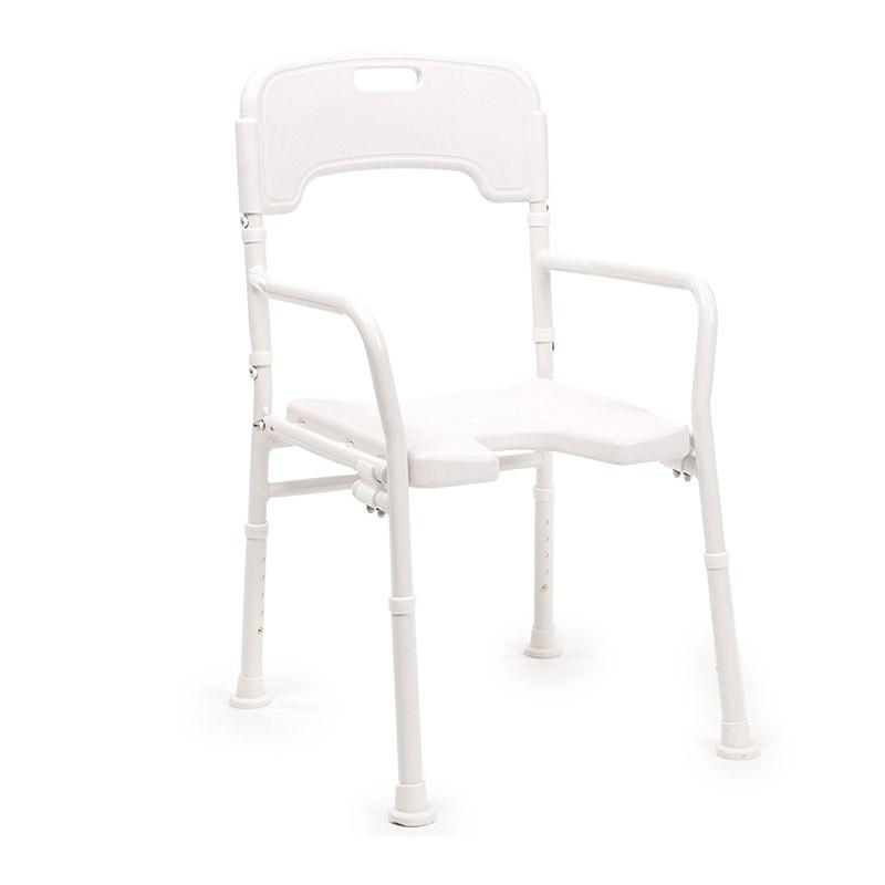 chaise de douche pliante laly. Black Bedroom Furniture Sets. Home Design Ideas